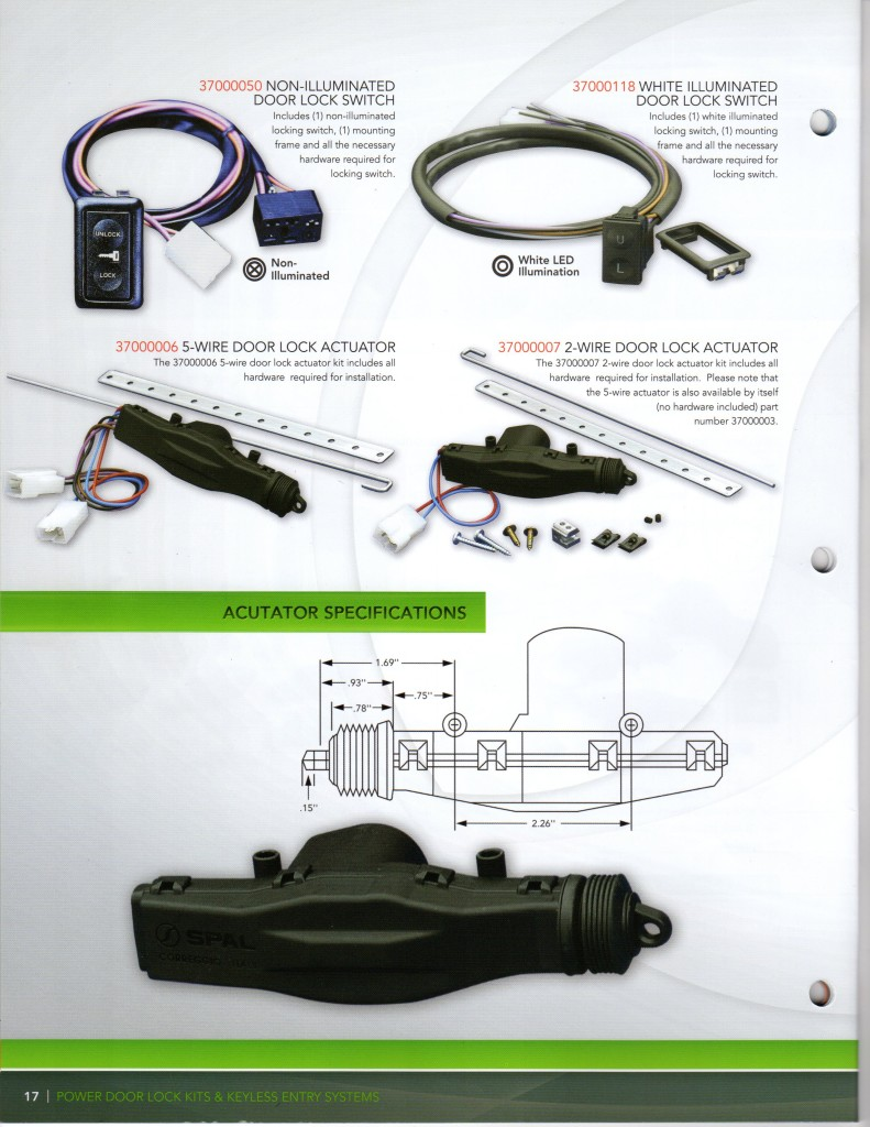 Spal Accessories4145